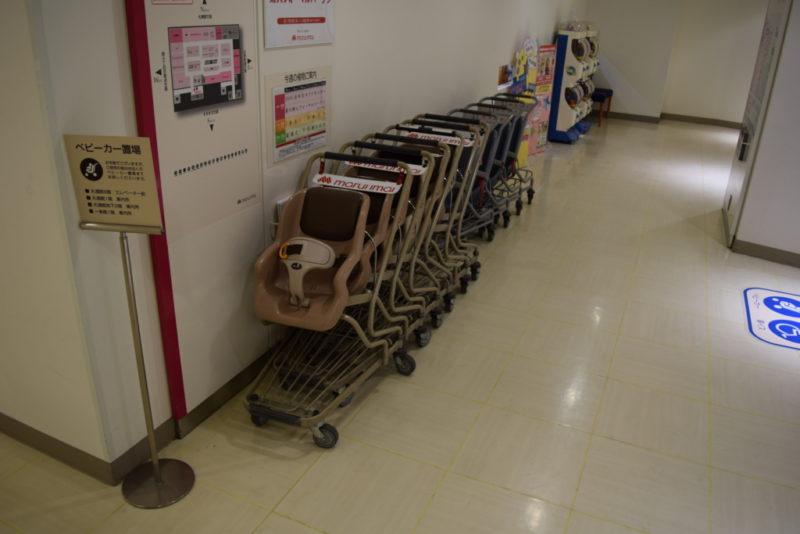 札幌駅・大通公園・すすきの周辺でベビーカーの貸し出し・レンタルしている商業施設一覧