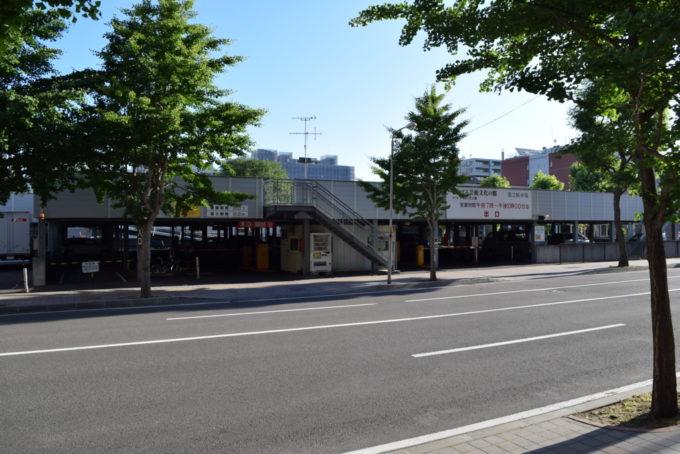札幌駅芸術文化の館第2駐車場