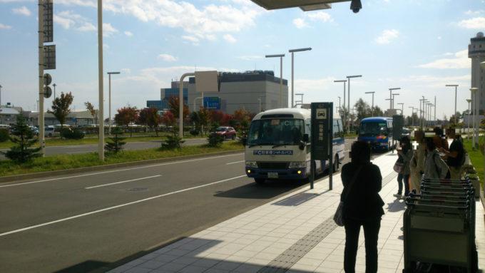 国際線ターミナル シャトルバス乗降場所