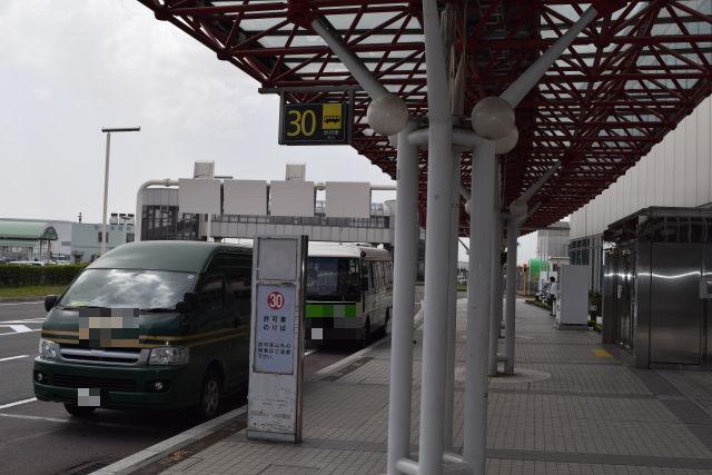国内線ターミナルANA側 シャトルバス乗降場所