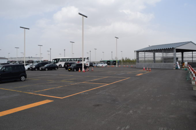 C駐車場の駐車台数