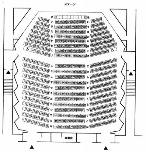 収容人数(キャパシティ)・座席数 600席