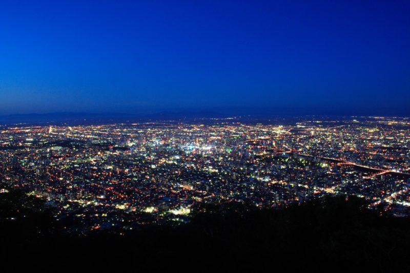 札幌で夜景が美しい展望台・展望地のオススメ10箇所