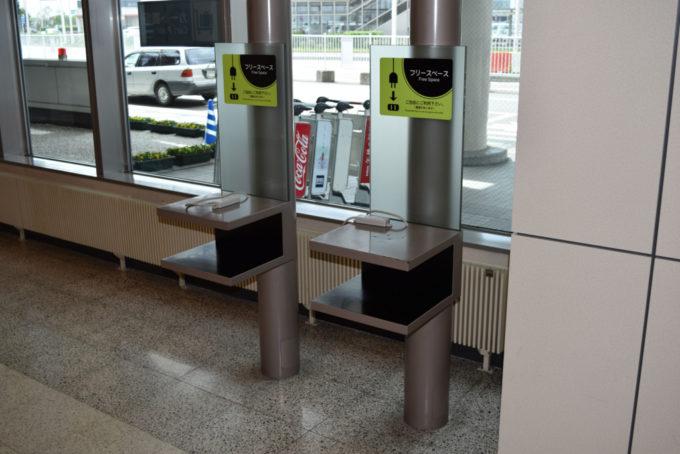 国内線ターミナルビル1階(エアターミナルホテル付近)のフリースペース