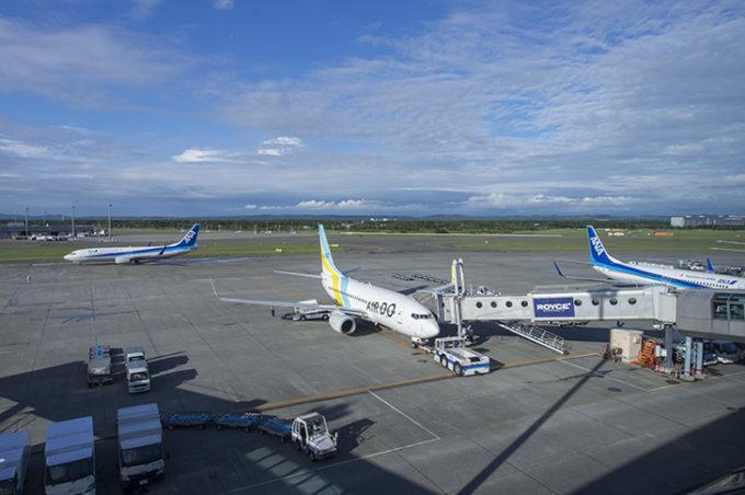 新千歳空港の飛行機発着や天気などのライブカメラ一覧