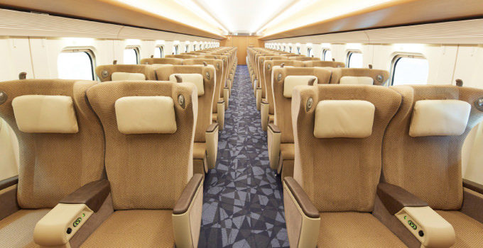 北海道新幹線グリーン車座席表