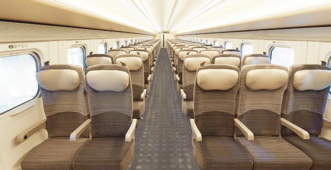 北海道新幹線普通車座席表