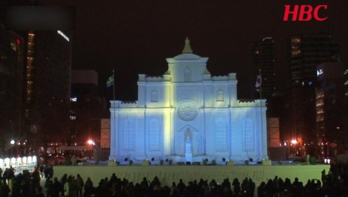 大通公園7丁目 HBCマカオ広場「ストックホルム大聖堂」