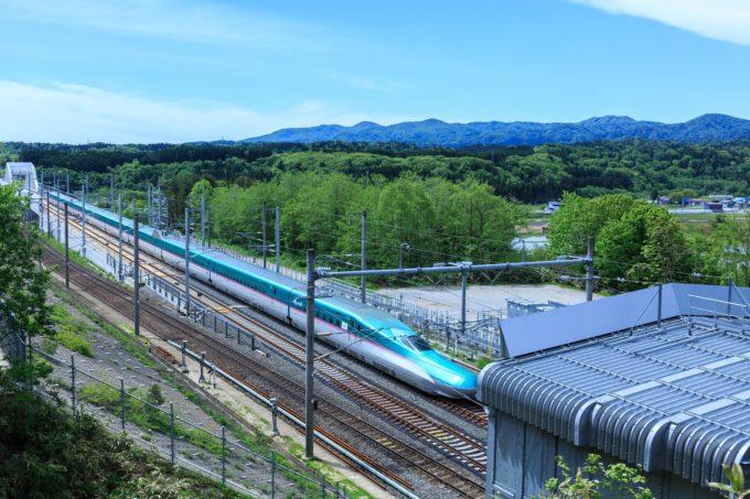 新函館北斗駅の北海道新幹線が見えるライブカメラ