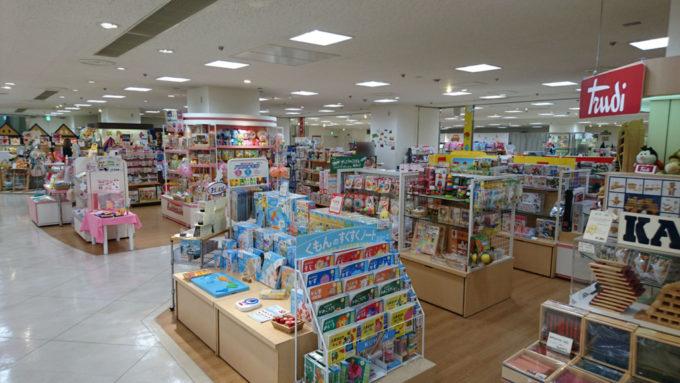 東急百貨店さっぽろ店おもちゃコーナー