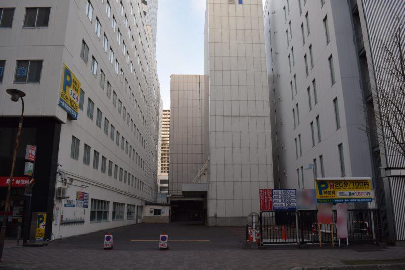 道通ビル駐車場