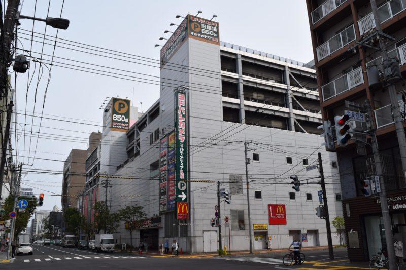 NPC24Hヨドバシ札幌パーキング(ヨドバシカメラマルチメディア札幌)