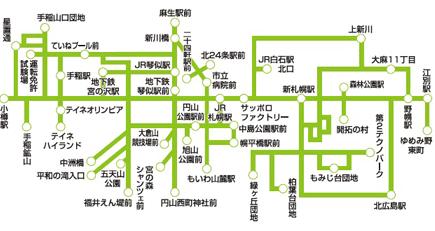 ジェイアール北海道バス1日乗りほーだいきっぷ