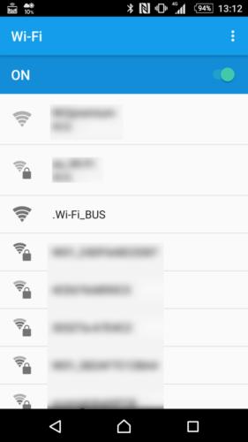 SSID「.Wi-Fi_BUS」を選択。