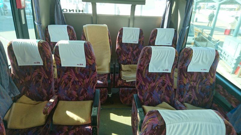 ポテトライナーの座席