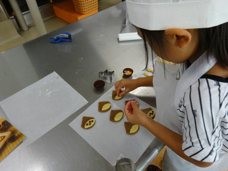 チョコレートのトッピング