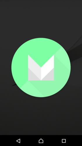 画面が切り替わり、出てきた丸いMarshmallow(マシュマロ)のロゴを押す。