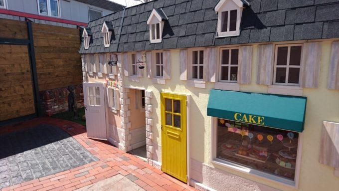 お菓子屋とおもちゃ屋