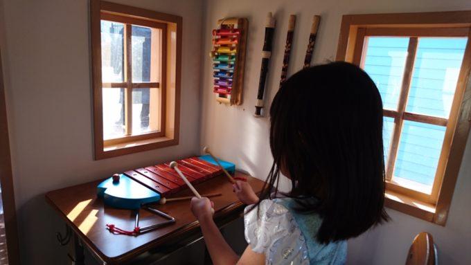 木琴とトライアングル