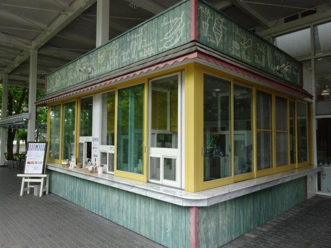 パラッツォベガポニー館軽食コーナー