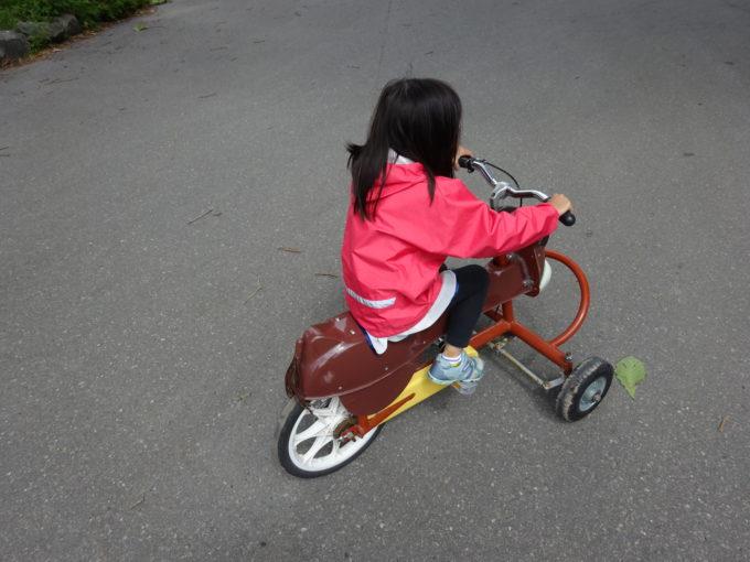 補助輪付き子供用自転車