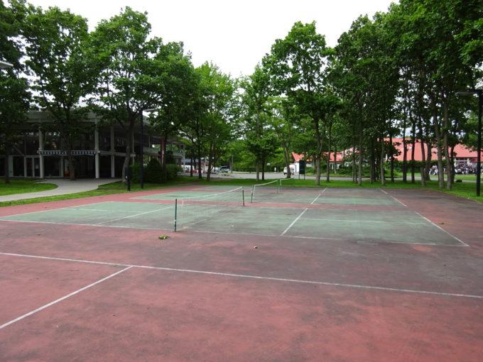 ショートテニス用のコート