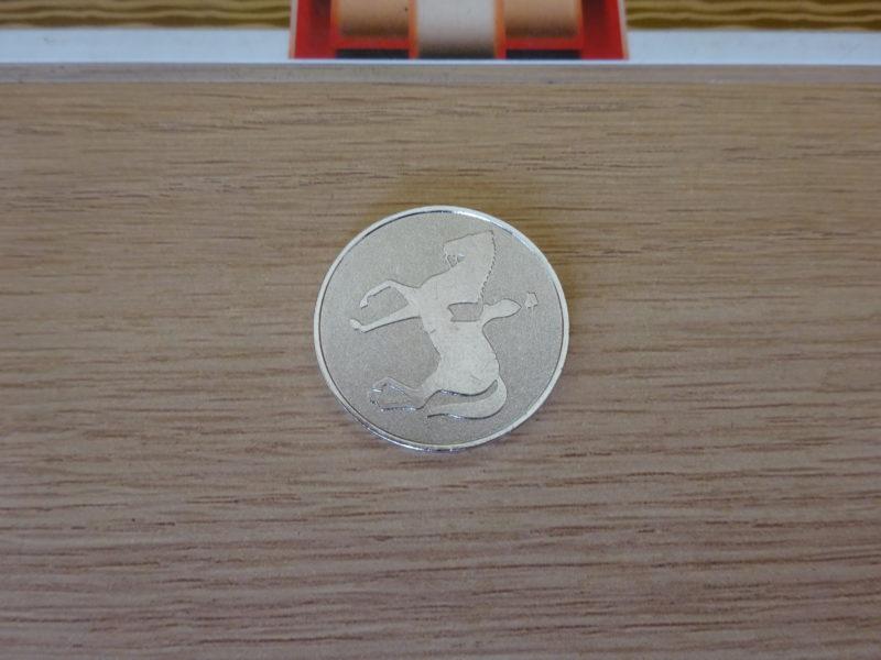 レーザーシューティング用のメダル