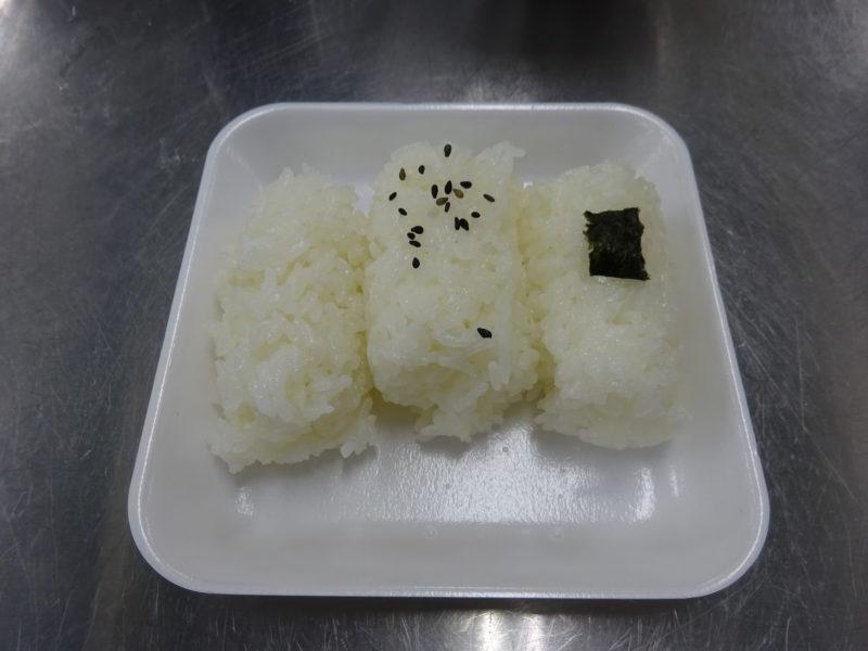 新米の食べ比べ