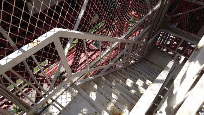 さっぽろテレビ塔の外階段