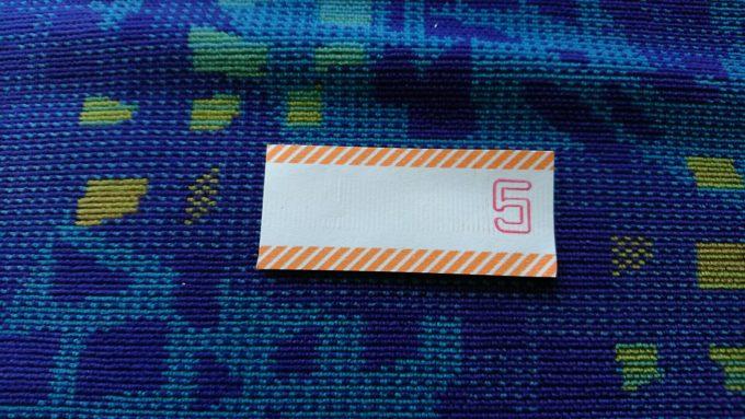くしろバス整理券