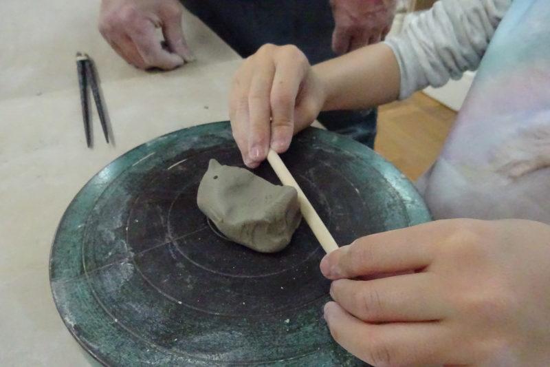 陶芸箸置きコース