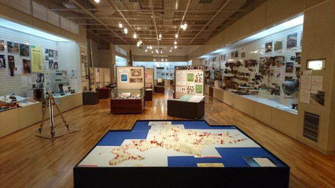 北海道埋蔵文化財センターにある展示室