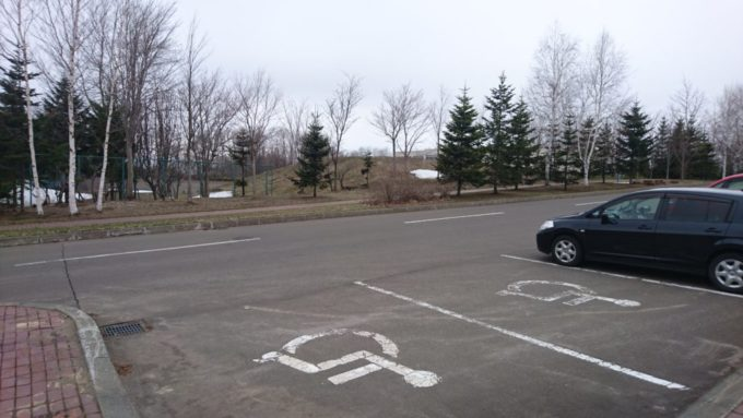 バリアフリー専用駐車スペース
