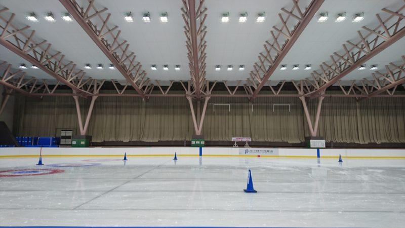 札幌市美香保体育館スケートリンク