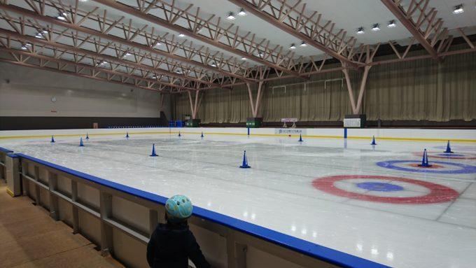 美香保体育館スケートリンク