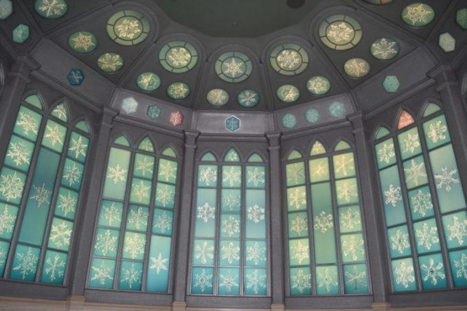 雪の結晶美術館のクリスタルルーム