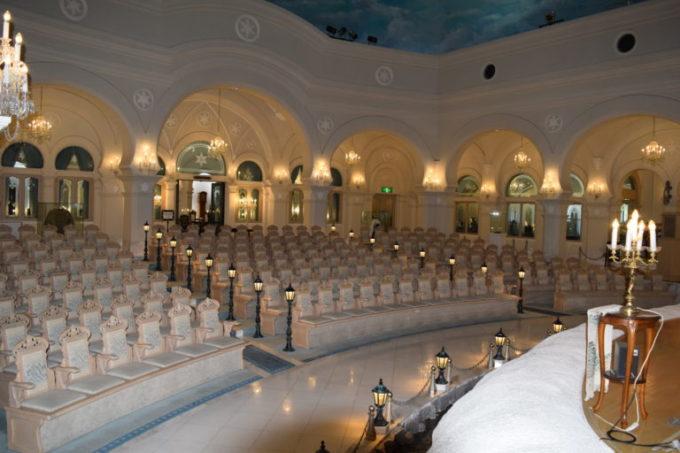 雪の美術館音楽堂
