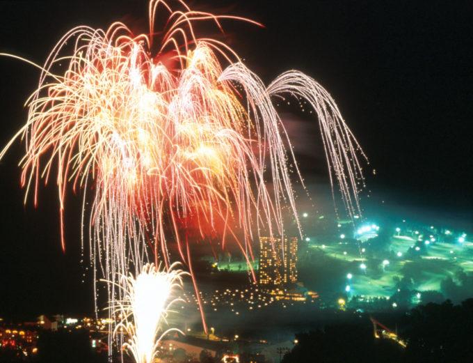 澄みきった夜空に打ち上がる北海道の冬の花火大会2017年~2018年