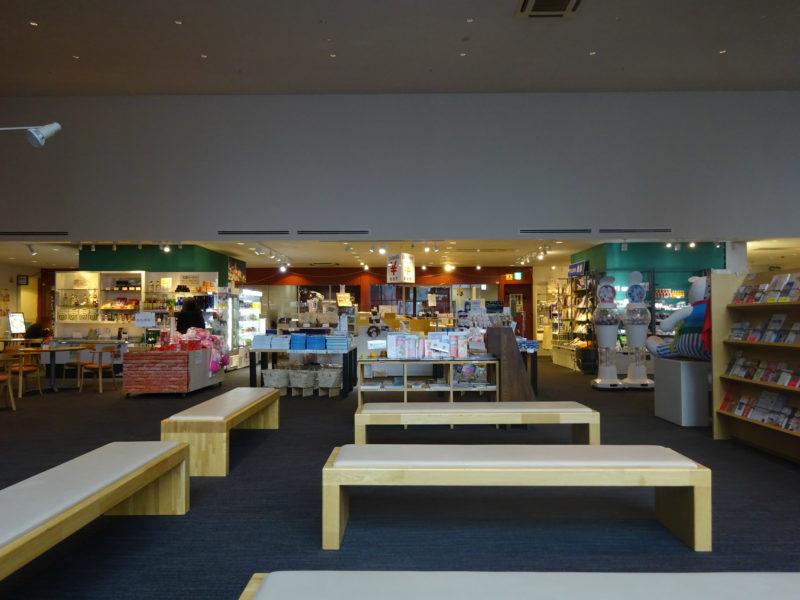 地場産品展示販売コーナー