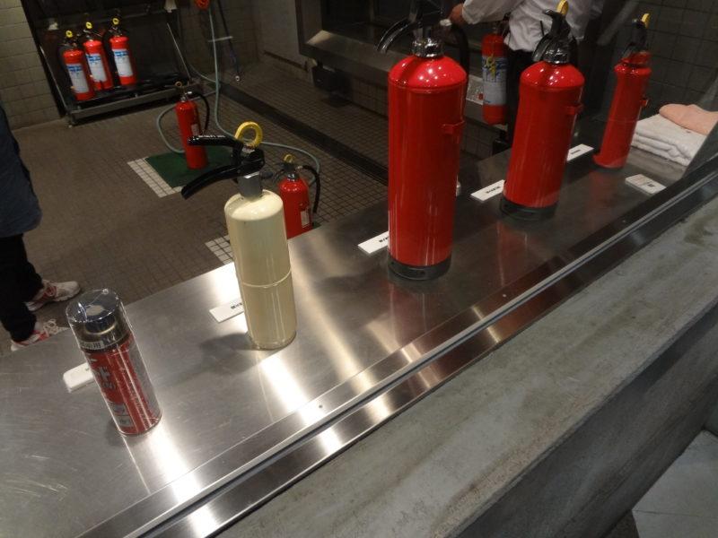 5種類の消火器