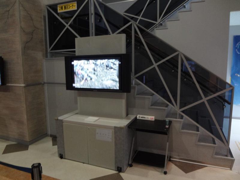 札幌市消防局を紹介するビデオも放映