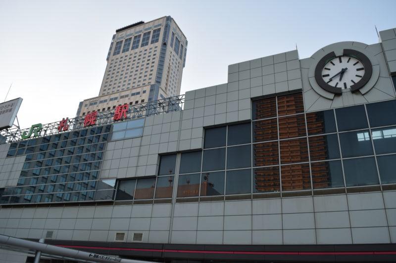 札幌駅の地図