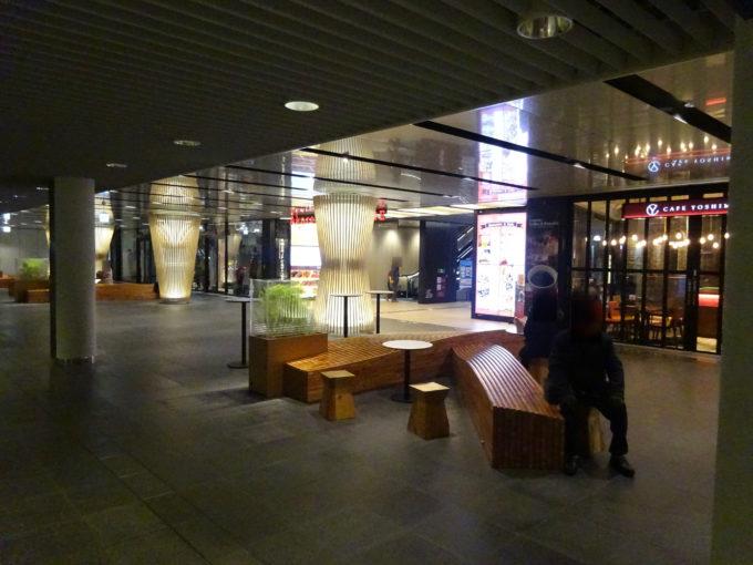 札幌駅前通地下広場赤レンガテラス前