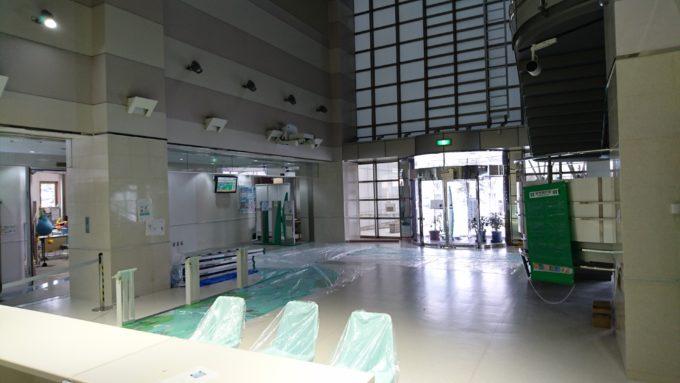 札幌市下水道科学館リニューアル中