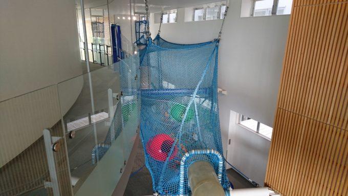 2階からのネットジャングル