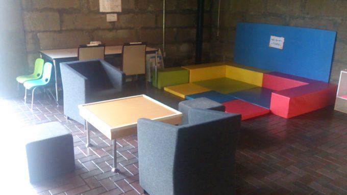カフェにあるフリースペース