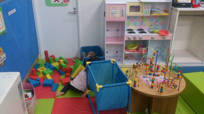 小さい子供スペース