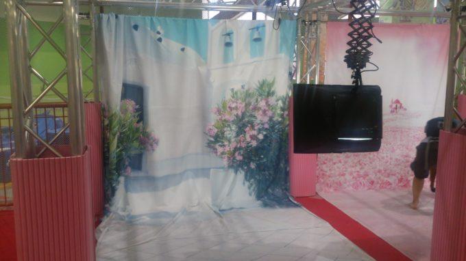 フォトファッションスタジオ背景