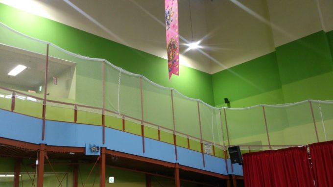 1階から見るスロープ
