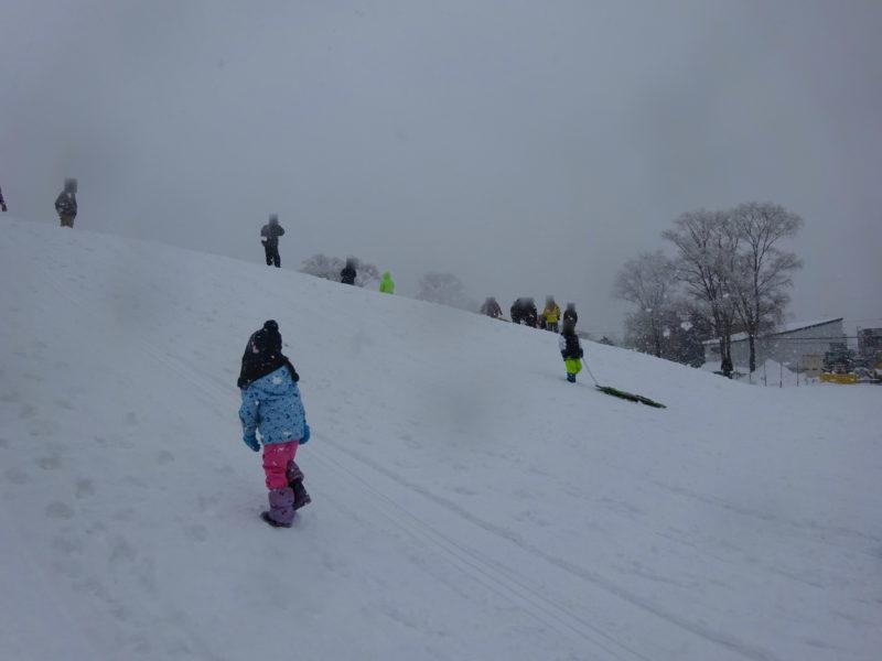 伏古公園ソリ山